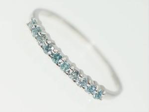 【0.0150Cts】K10ダイヤモンドリング【サイズ直し無料】