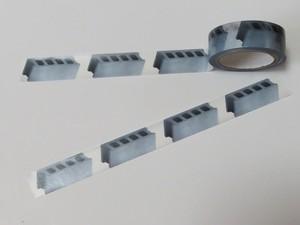 マスキングテープ「コンクリートブロック」
