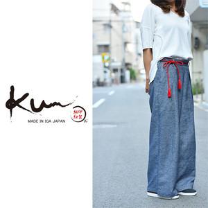【Kumu】オリジナル組紐ベルト Red  kumu-1