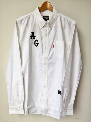 [ Acapulco Gold ] APPLIQUE OXFORD BD SHIRTS