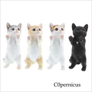 ネコオブジェ  C type   猫 置物 ネコ雑貨/浜松雑貨屋C0pernicus