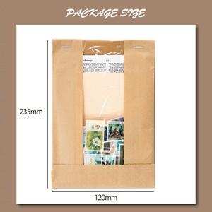 レトロ 素材紙セット 全8種 切手モチーフ素材紙 特殊紙 英字 楽譜 コラージュ ジャンクジャーナル E06