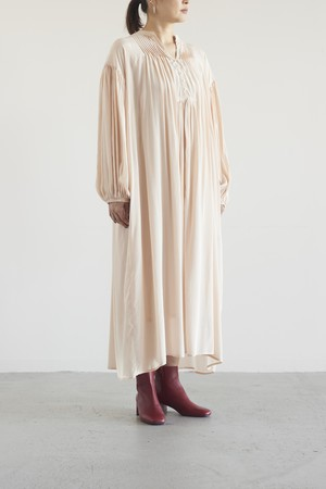 Audrey and John Wad  flare long onepiece