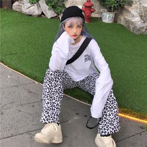 【ボトムス】ファッション原宿風ストリートヒョ柄bfカジュアルパンツ