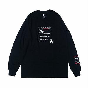 PARK DELI - SUBSCRIBE L/S TEE (Black)