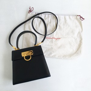 Ferragamo ganchini mini hand & shoulder bag