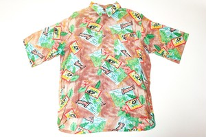 USED PAZZO HAWAIIAN ALOHA SHIRT
