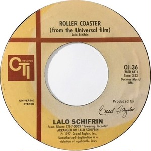 """Lalo Schifrin – Roller Coaster / Love Theme From """"The Eagle Has Landed"""""""