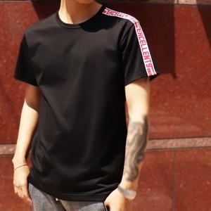 【限定】EXCELLENT9(エクセレントナイン) EXCELLENT9-LineTshirt[19SS0005] ブラック Tシャツ メンズ