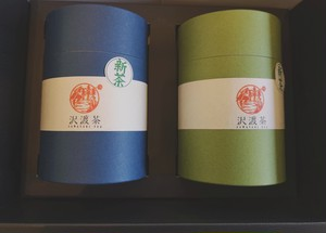 【新茶】沢渡茶 茶筒セット