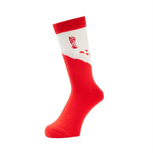 WHIMSY - GEZAN TOZAN SOCKS (Red)