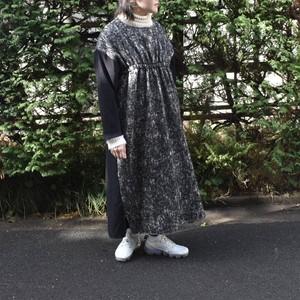 nusumigui    ブラックミックスワンピース