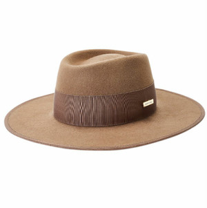 MB-19308 CHECK BRIM HAT