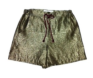 """short pants""summer shot pants/gold"