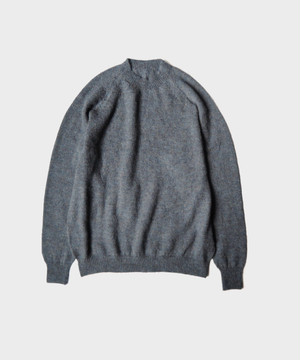 crepuscule exclusive mohair knit BLUEGRAY