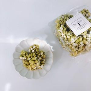 〈お米〉抹茶のポン菓子