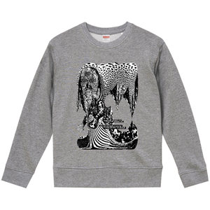 """dib""【Tremolo Forest】GRAPHIC SWEAT SHIRT"