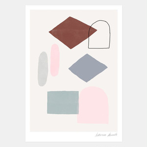 "30% OFF // Hanna Konola A4 Art Print ""Melodies"""