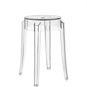 ghost clear stool chair 4colors / ゴースト クリア スツールチェア 透明 椅子 韓国 北欧 インテリア 雑貨