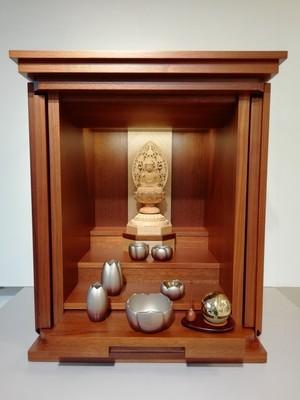 家具調仏壇 ウォールナット薄板貼り 18号 RK