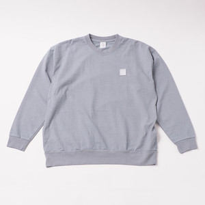Garment Dye Emblem Sweatshirt designed by tomoo gokita / ICELAND BLUE