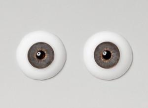 Silicone eye - 21mm Mystic Grayish Hazel