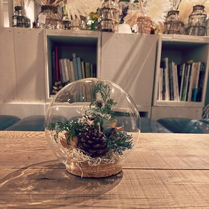 Glass Dome flower02