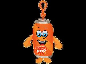 オレンジ ソーダの香り【 WhifferSniffers 】エアーフレッシュナー 芳香剤  香る ぬいぐるみ アメリカンキャラクター キーホルダー