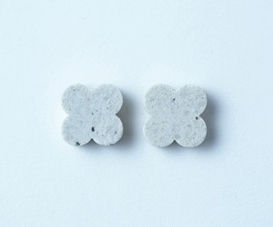 tile - flower / pierce or earring