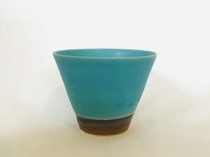 陶器 ターコイズそばチョコ (眞正陶房)