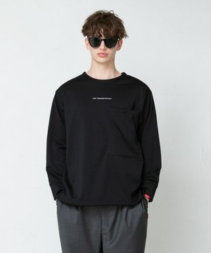 "SAY! / セイ!|  "" SMOOTH BIG L/S TEE "" - Black"
