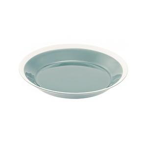 yumiko iihoshi porcelain(ユミコイイホシポーセリン)×木村硝子店 dishes 180 plate (pistachio green)  プレート 皿 18cm 日本製 255237
