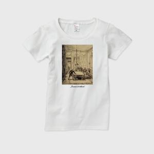 レディスTシャツ(Joueurs de billard)