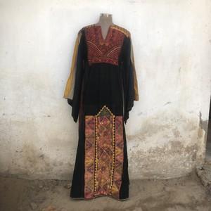 Vintage パレスチナ バタフライスリーブのベドウィンドレス