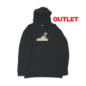 アウトレット】BUTTER GOODS FROG PULLOVER BLACK サイズL