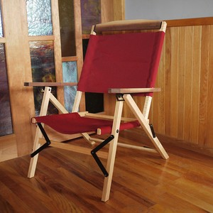 """KachaKacha Mid Chair   """"Burgundy""""(カチャカチャ チェア """"バーガンディー"""")"""