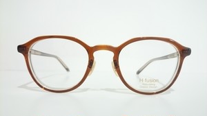 H-fusion HFL-813 01 BROWN CLEAR