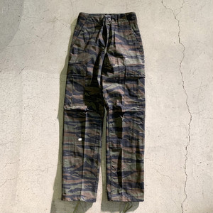 """DEADSTOCK"" US(米軍) Tiger Stripe Camo Combat Trourers"