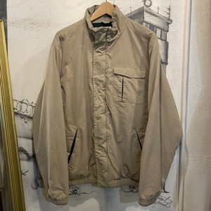 CHAPS polyester zip up jacket