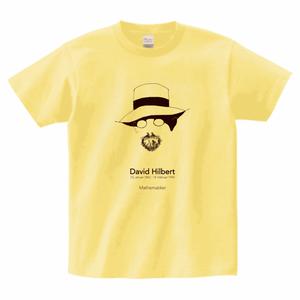 ダフィッド・ヒルベルトTシャツ_ライトイエロー)/David HIlbert T-shirt (Light Yellow)