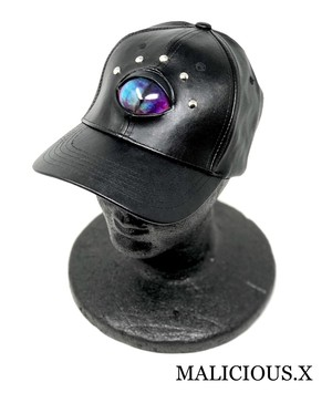 cat eye cap / marble