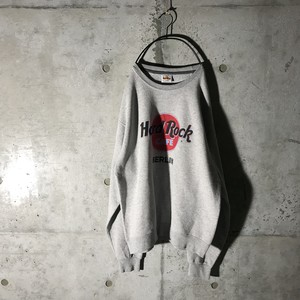 [Hard Rock Cafe]BERLIN gray sweat