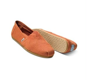 TOMS | Earthwise Orange Mens Classics