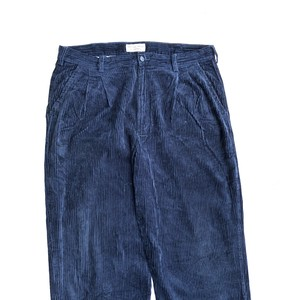 ROUND TREE & YORKE - CORDUROY PANTS NAVY (W36)