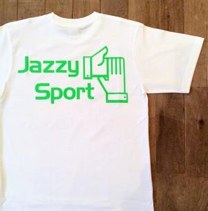 【再入荷】JSロゴ Tシャツ/蛍光グリーン