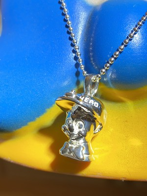 SHIT HEAD Necklace collaborate with Balansa /Silver 925 シルバーネックレス/IN-PUT-OUT