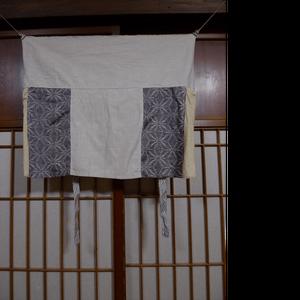 shinzou スカート 02 ヘンプコットン ベンガラ染め