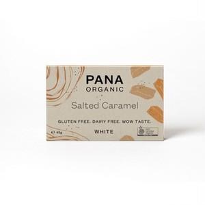 PANA ORGANIC 有機チョコレート WHITE CHOCOLATE SALTED CARAMEL ホワイトチョコ 塩キャラメル