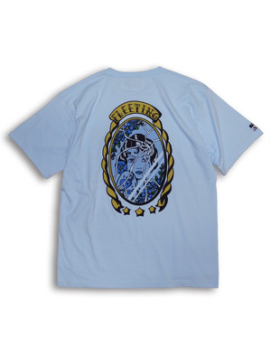 FLEETING TEE lightblue