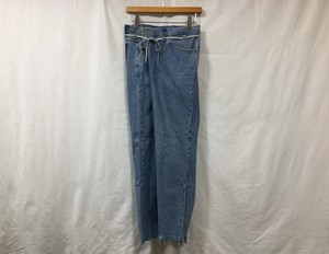 "MAISON EUREKA "" VINTAGE REWORK BIGGY PANTS BLUE "" D"